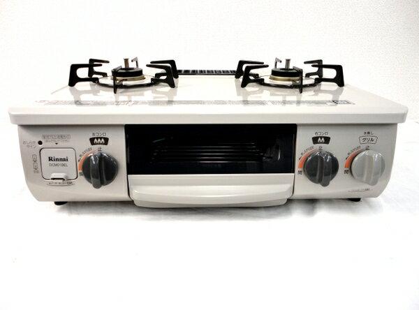 【中古】 Rinnai リンナイ RT33NJH-L DCM01BEL ガスコンロ 都市ガス用 左強火力 M2644549