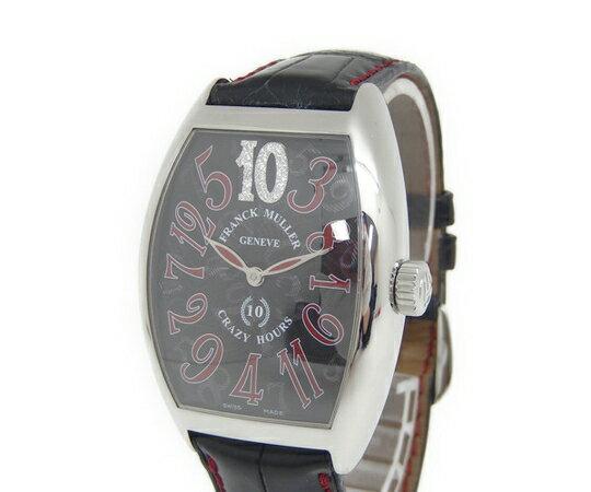 美品 【中古】 フランクミュラー クレイジーアワーズ 10th 7880CH10D 10週年記念モデル 100本限定 メンズ 腕時計 自動巻き インデックスダイヤ  Y2370621
