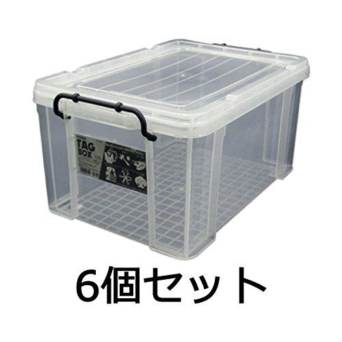 【頑張って送料無料!】伸和(SHINWA) タッグボックス 05(N) 6個セット収納ケース(衣装ケース・マルチボックス)幅53.1×奥行36.1×高さ27cm×6個工具・おもちゃ・趣味の道具など、積み重ね可能な収納ボックス
