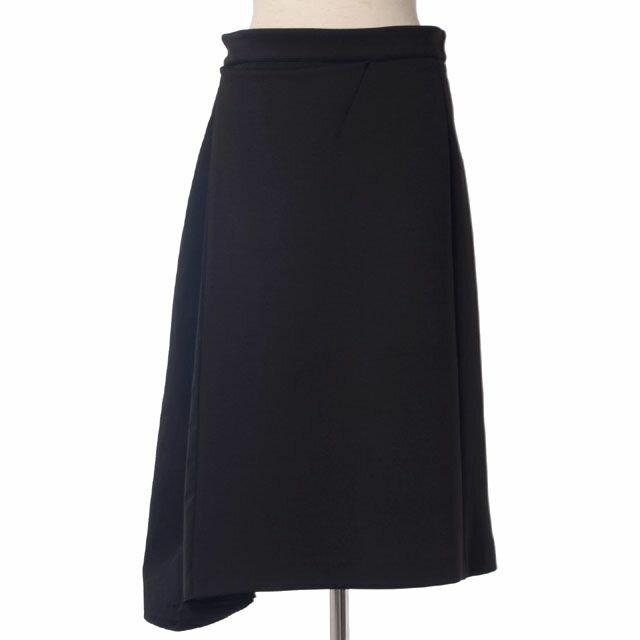 アンヴァレリーアッシュ (ANNE VALERIE HASH) スカート シルクジャージー ブラック 14ah034can070 10,800円以上購入で送料無料 【正規取扱】