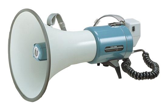 ユニペックス  15Wメガホン(ハイパワータイプ)TRM-55A