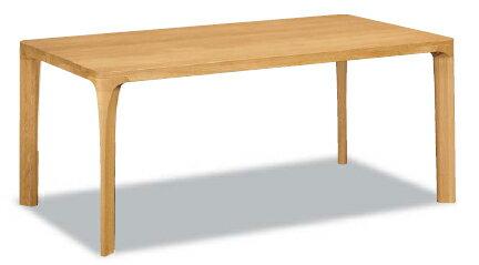 【P10倍】 カリモク オークムク材ダイニングテーブル DD6230MS幅1800 送料無料 【家具のよろこび】 【店頭受取対応商品】
