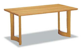 【P10倍】 カリモク オークムク材ダイニングテーブル DD5720MS幅1650 送料無料 【家具のよろこび】 【店頭受取対応商品】