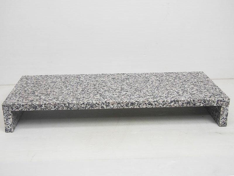 【送料無料】オリジナルモニタースタンド白御影石(9kg)【モニター台】【モニタースタンド】
