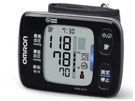 【ポイント5倍】オムロン 血圧計 HEM-6311 [計測方式:手首式 電源:乾電池 メモリー機能:2人×90回] 【楽天】【激安】 【格安】 【特価】 【人気】 【売れ筋】【価格】【05P22Sep17】