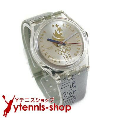 スウォッチ腕時計1996年アトランタ・オリンピック・テニス(男子シングルス)銀メダリスト セルジ・ブルゲラ モデル【あす楽】