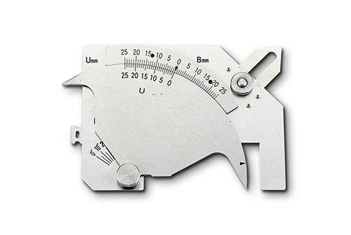 【取寄】溶接ゲージ WGU_9M検査器具/計測器具/工具/PAOCK