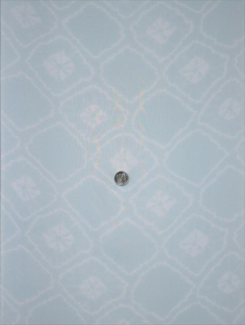 羽織り裏  hu-2 藍白地・斜め格子柄