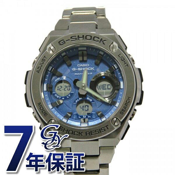 カシオ CASIO G-SHOCK Gスチール【正規品】 GST-W110D-2AJF ブルー文字盤 メンズ 腕時計 【新品】