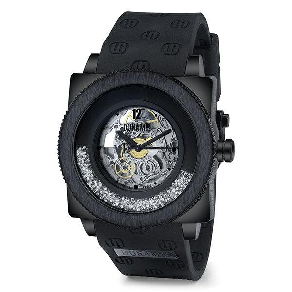 デュナミス DUNAMIS ヒュブリス HUS-B1 スケルトン文字盤 メンズ 腕時計 【新品】