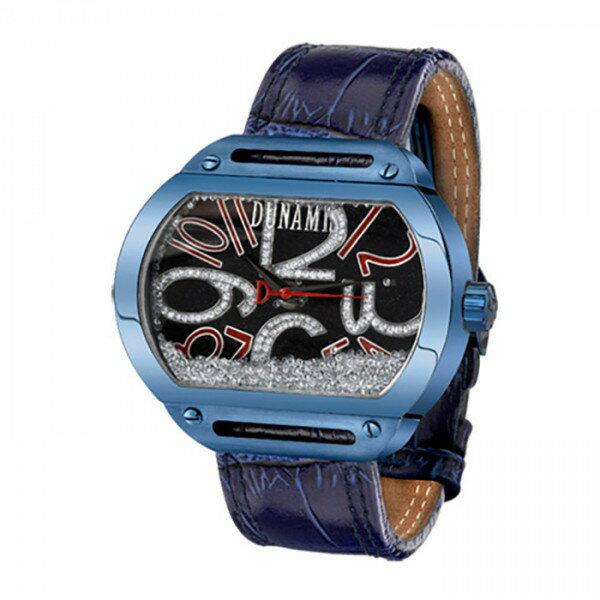 デュナミス DUNAMIS スパルタン SP-BL2 ブラック文字盤 メンズ 腕時計 【新品】