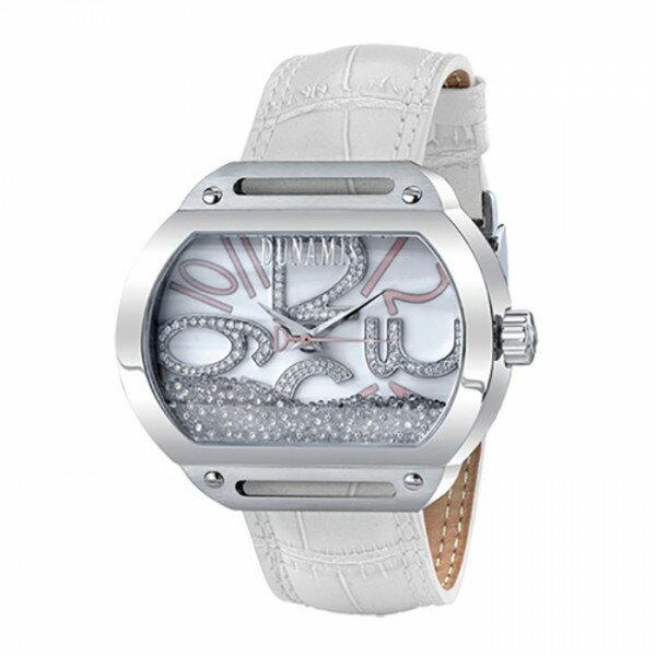 デュナミス DUNAMIS スパルタン SP-S23 ホワイトシェル文字盤 メンズ 腕時計 【新品】