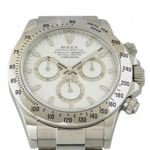 ロレックス ROLEX デイトナ 116520 ホワイト文字盤 メンズ 腕時計 【中古】