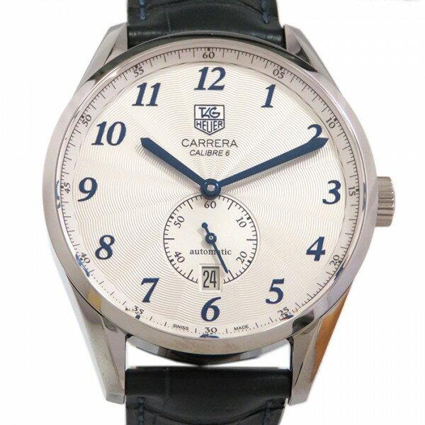 タグ・ホイヤー TAG HEUER カレラヘリテージ キャリバー6  WAS2111.FC6293 シルバー文字盤 メンズ 腕時計 【新品】