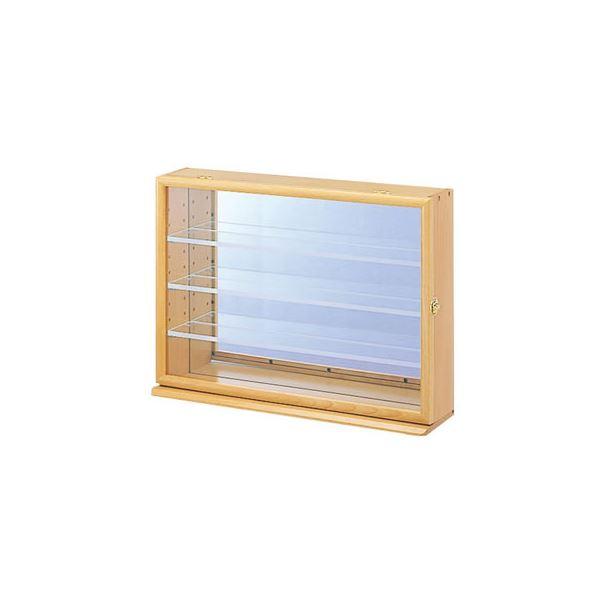 ナカバヤシ コレクションケース ワイド 透明アクリル棚板タイプ CCM-202NM (カテゴリー:生活用品>インテリア>雑貨>日用雑貨>収納用品 )