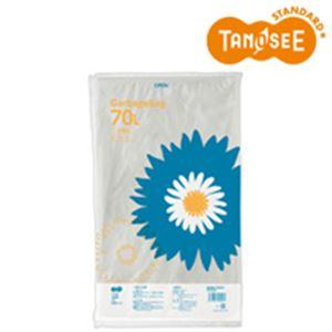 (まとめ)TANOSEE ゴミ袋 半透明 70L 20枚入×40パック (カテゴリー:生活用品>インテリア>雑貨>日用雑貨>ビニール袋 )
