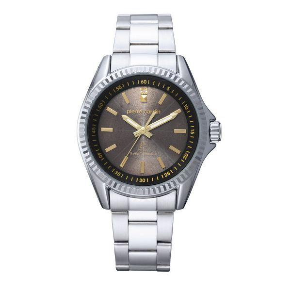 【送料無料】pierre cardin(ピエール・カルダン) ソーラー電波時計 ゴールド PC-791 (カテゴリー:ファッション>腕時計>その他の腕時計 )
