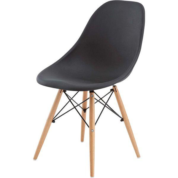 【送料無料】(2脚セット)東谷 ダイニングチェア(カフェチェア) 木製(天然木) CL-793CBK ブラック(黒) 黒 (カテゴリー:生活用品>インテリア>雑貨>インテリア>家具>椅子>その他の椅子 )