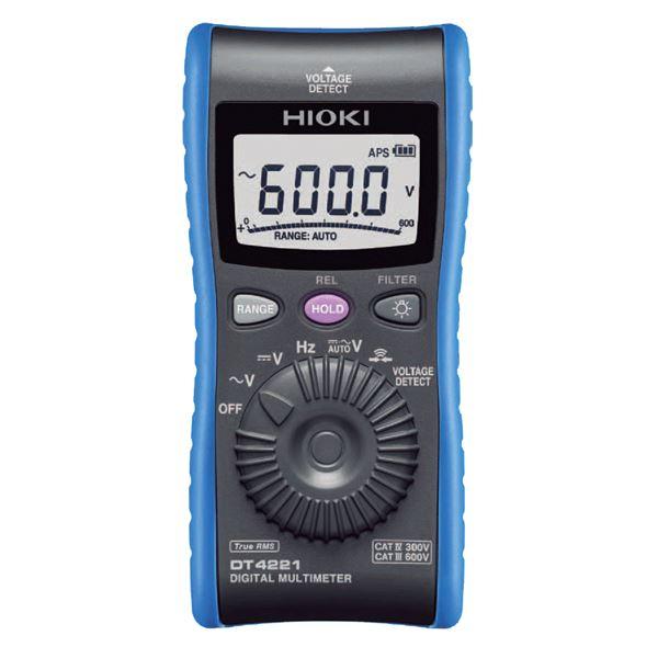 【送料無料】日置電機 デジタルマルチメータ(検電機能付き) DT4221 (カテゴリー:ホビー>エトセトラ>科学>研究>実験>計測器 )