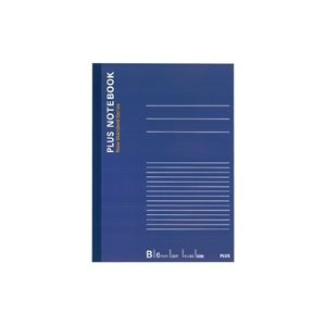 【送料無料】(業務用500セット) プラス ノートブック NO-005BS B5 B罫 (カテゴリー:生活用品>インテリア>雑貨>文具>オフィス用品>ノート>紙製品>ノート>レポート紙 )