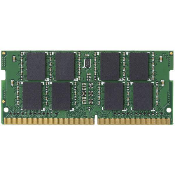 【送料無料】エレコム EU RoHS指令準拠メモリモジュール/DDR4-SDRAM/DDR4-2400/260pinS.O.DIMM/PC4-19200/8GB/ノート用 EW2400-N8G/RO (カテゴリー:AV>デジモノ>パソコン>周辺機器>USBメモリ>SDカード>メモリカード>フラッシュ>その他のUSBメモリ>SDカード>メモリ