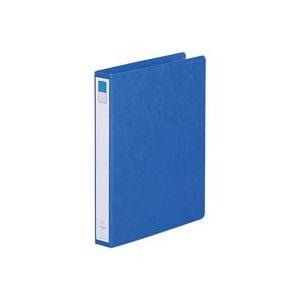 【送料無料】(業務用100セット) LIHITLAB ツイストリング式ファイル 【B5/2穴】 タテ型 F802UN-5 藍 (カテゴリー:生活用品>インテリア>雑貨>文具>オフィス用品>ファイル>バインダー>クリアケース>クリアファイル )