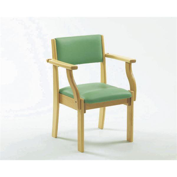 【送料無料】ピジョン 椅子 ミールチェアML11 座面高38cmライトグリーン 201910BF( チェア イス 椅子 グリーン 緑 )