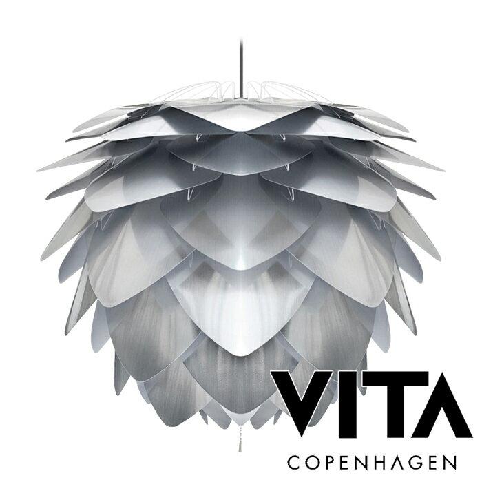 【送料無料】VITA Silvia steel ヴィータ シルヴィア スチール (3灯ペンダントライト/ブラックコード) elux エルックス