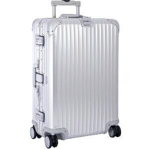 【リモワ】RIMOWA TOPAS トパーズ キャビンマルチホイール イアタ 900.53 34L アルミ シルバー 4輪 スーツケース 90053