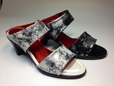 日本製 レディースシューズモールドソール?リッチ革 ミュール 黒 ヒール痛くない靴 疲れない靴 【送料無料】 【送料無料_fb_2014ss】