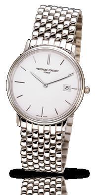 フレデリックコンスタント 腕時計 インデックス スリムライン デイト FC-220NW4S6B
