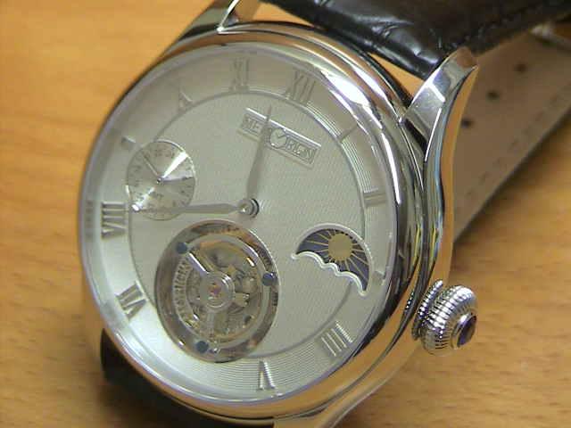 メモリジン 腕時計 トゥールビヨン MEMORIGIN Travelers トラベラーズ マニュファクチュール トゥールビヨン MO0511SSWHBKR