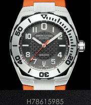 ハミルトン 腕時計 HAMILTON カーキ ネイビー サブ オートH78615985