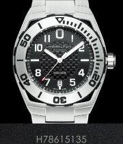 ハミルトン 腕時計 HAMILTON カーキ ネイビー サブ オートH78615135