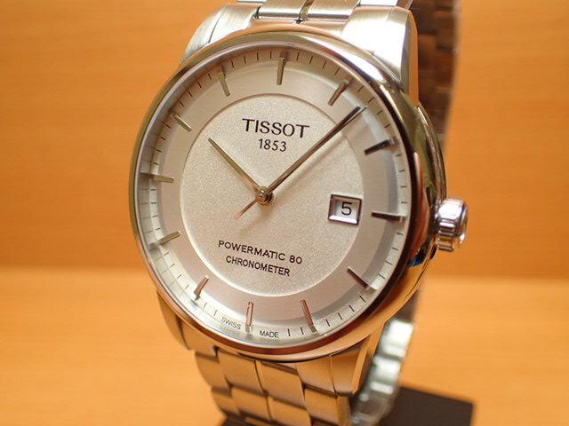 ティソ 腕時計 TISSOT Luxury Automatic (ラグジュアリーオートマチック) COSC クロノメーター認定モデル POWERMATIC80 パワーマティック80 T0864081103100 メンズ 正規輸入品 分割払いもOKです