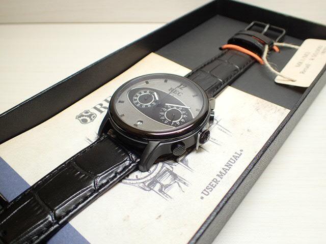 REC WATCHES 44mm メンズ 腕時計 The Mark I マーク1 本物のMiniの車体文字盤 M3