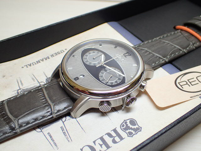 REC WATCHES 44mm メンズ 腕時計 The Mark I マーク1 本物のMiniの車体文字盤 M2