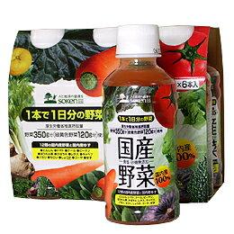 日本全国送料無料国産野菜(6本パック) 200gx6本 ×12パックで合計72本