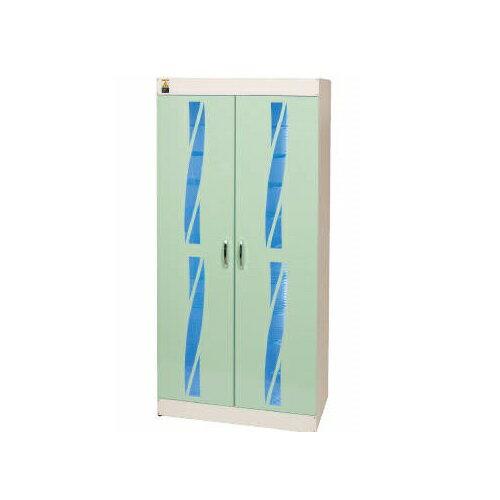 【送料無料】 殺菌ロッカー 殺菌線方式スリッパ殺菌ロッカー 緑 W700×D400×H1500mm 58kg KE-SGL020 コトヒラ工業