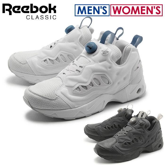 送料無料 リーボック クラシック REEBOK CLASSIC スニーカー インスタ ポンプ フューリー ロード PL ホワイト×ブラックアイス他全2色(REEBOK INSTA PUMP FURY ROAD AQ9977 AQ9978)シューズ 靴 メンズ兼レディース
