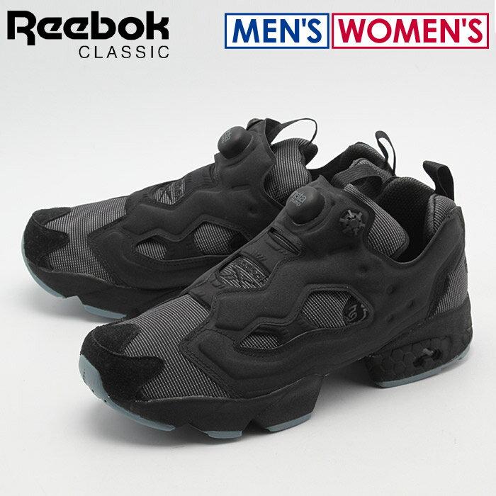送料無料 リーボック REEBOK スニーカー インスタポンプフューリー MTP ブラック×ファイアスパーク×ストーン(REEBOK INSTAPUMP FURY MTP BD1502)シューズ 靴 メンズ 兼 レディース
