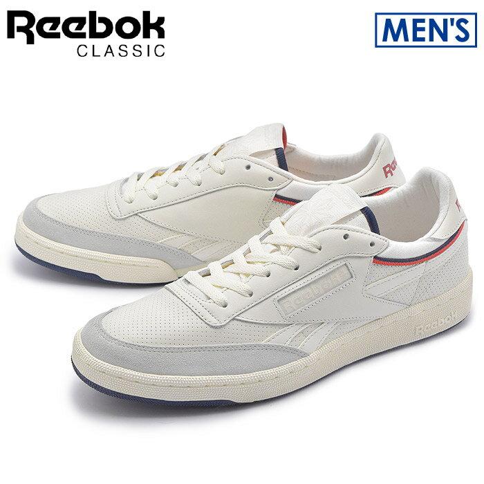 送料無料 リーボック クラシック REEBOK CLASSIC スニーカー リベンジ THOF チョーク×ホワイトBD2885シューズ 靴 カジュアル 白メンズ