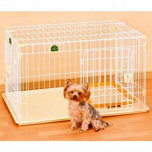 ヤマヒサ アドメイト 犬用サークル 2ドアパピーサークル 屋根面・トイレセット