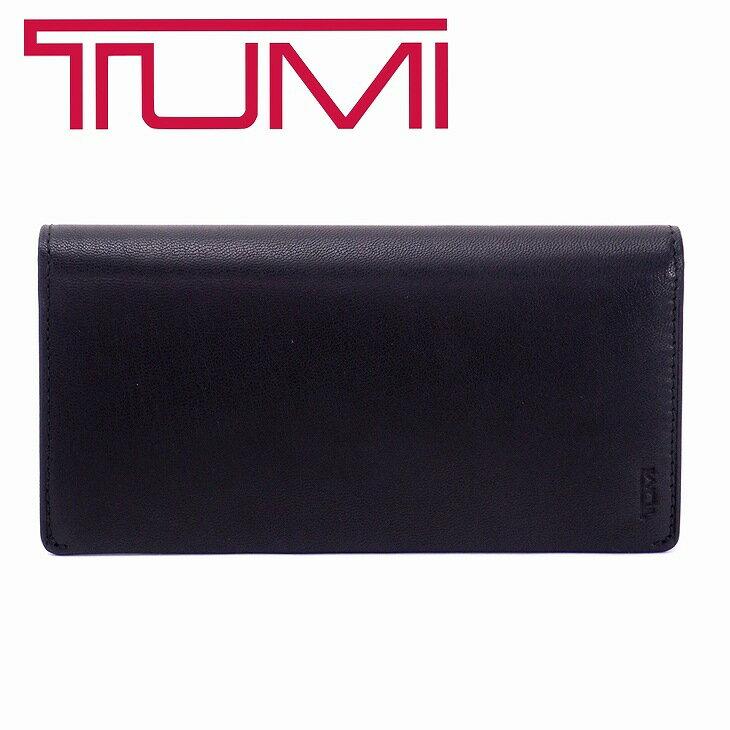 TUMI 財布 メンズ 長財布 トュミ レザー 本革 皮 ブラック 黒 チャンバー CHAMBERS トゥミ TUMI-12643D ブランド