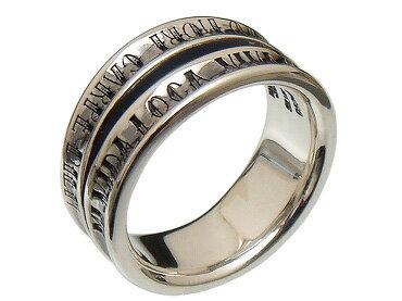 PUERTA DEL SOL(プエルタデルソル)【R1002】VIVA DA VILA ダブル リング 指輪【シルバー】[7号~23号]【ギフト包装-対応】