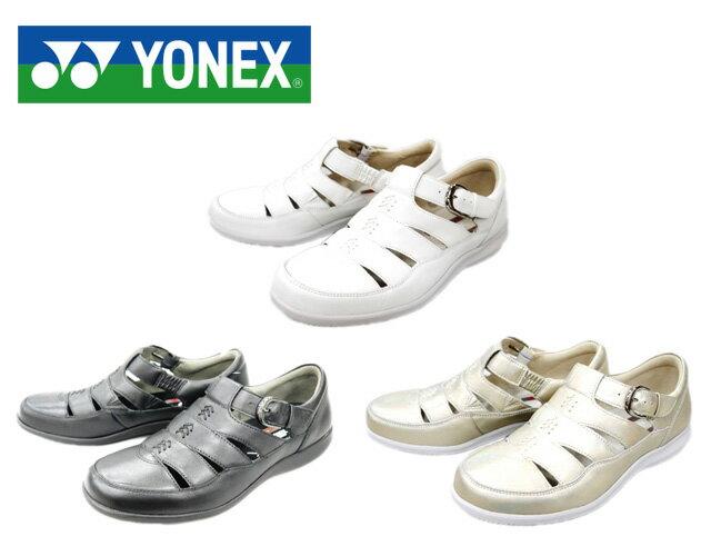 【YONEX】ヨネックス サンダル SHW-LC85 パワークッション サンダル プレーンパンプス