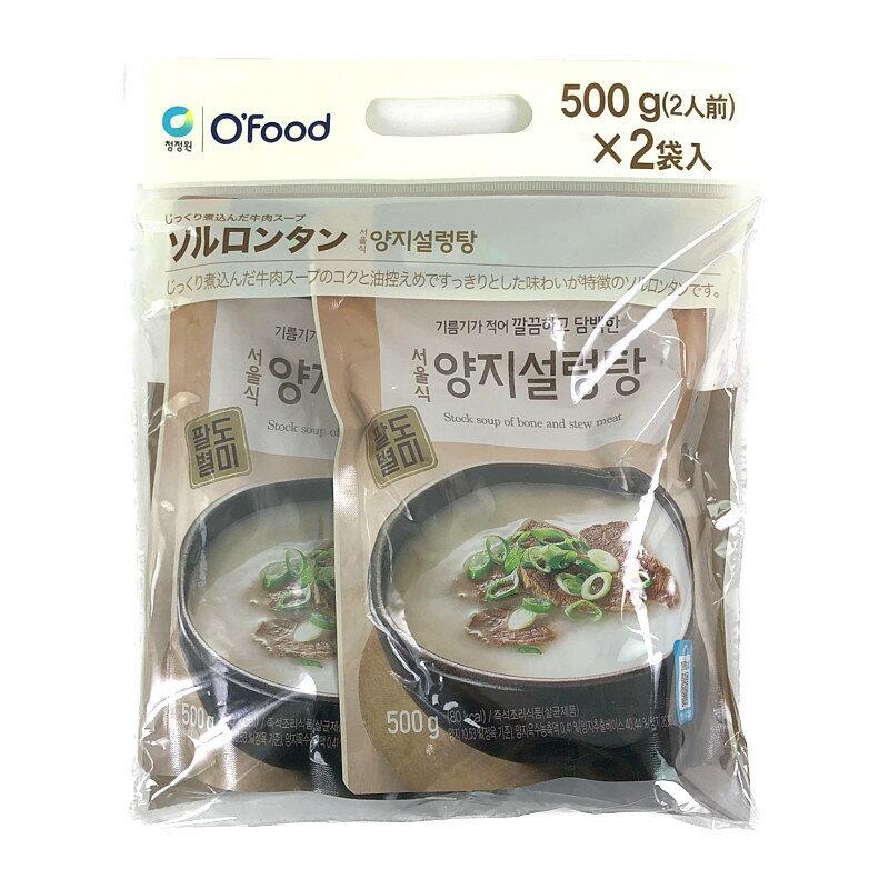 大象 ソルロンタン 500g×2 Seolleomg-Tan Soup