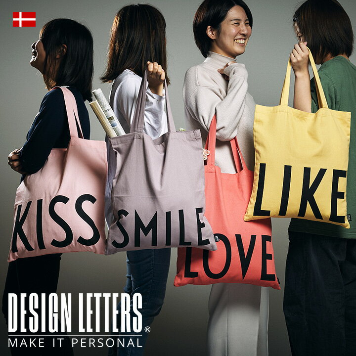 【NEW】【送料無料】FAVOURITE TOTE BAG STATEMENT フェイバリットトートバッグ by DESIGNLETTERS デザインレターズ 綿100% 42×44cm エコバッグ 買い物バッグ ジムバッグ 習い事 折り畳み 持ち運び ピンク ブルー【2点までメール便可】