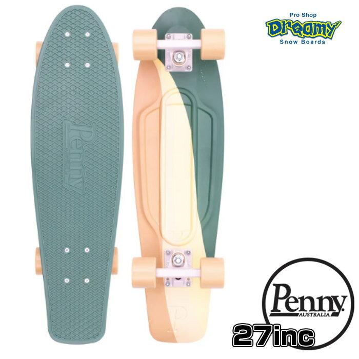 "Penny SkateBoard ペニースケートボード POSTCARD 27"" SWIRL 27インチ 1NGR5 NICKEL ポストカード 特殊プラスティック ウィール59mm Abec7 正規品"