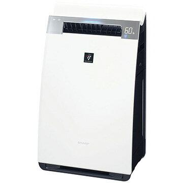 SHARP 加湿空気清浄機 ハイグレードモデル プラズマクラスター25000 ホワイト KI-JX75-W